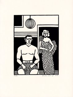 Groschenroman #Illustration by Katrin Stangl