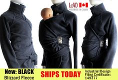 Holy schnikes! I want this!!  Maternity. Babywearing. Coat. Jacket. Baby Wearing. by babywearing, $170.00
