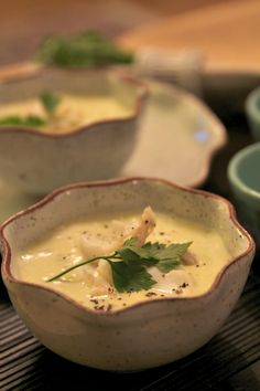 Cullen Skink is a traditional thick Scottish soup of smoked haddock, potatoes and onions. Enjoy more pins inspired by Outlander here: https://www.pinterest.com/KaveyEats/outlander-inspiration/