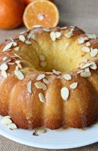 Ricotta Orange Bundt Cake |sneaksandsweets|