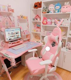 Shop collections of high fashion, unique, afforable unicorn accessories & toys. We sell everything unicorn from off retail price, don't miss out. Cute Room Ideas, Cute Room Decor, Girl Bedroom Designs, Room Ideas Bedroom, Bedroom Furniture, Bedroom Decor, Gaming Room Setup, Gaming Rooms, Gaming Desk