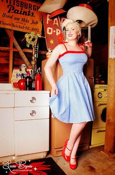Pinup Couture Netti Swing Dress XL Rockabilly Pug RARE Pin Up Girl Clothing | eBay