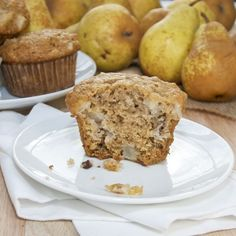 Sweet Pea's Kitchen » Brown Sugar Pecan Pear Muffins