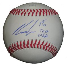 Houston Astros Robbie Grossman signed Rawlings ROLB leather baseball w/ inscription & proof photo.  Proof photo of Robbie signing will be included with your purchase along with a COA issued from Southwestconnection-Memorabilia, guaranteeing the item to pass authentication services from PSA/DNA or JSA. Free USPS shipping. www.AutographedwithProof.com is your one stop for autographed collectibles from Houston sports teams. Check back with us often, as we are always obtaining new items.