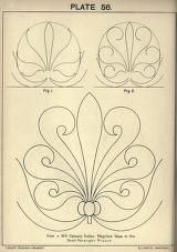 see site for many more - 1895 - Cusack's freehand ornament. A text book with chapters on elements, principles, and methods of freehand drawing, for the general use of teachers and students . by Armstrong, Charles Art Nouveau, Paper Embroidery, Embroidery Patterns, Pattern Art, Pattern Design, Molduras Vintage, Bijoux Art Deco, Free Hand Drawing, Leather Pattern
