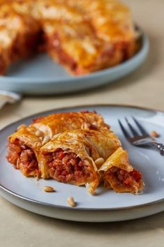 Olasz burek recept | Street Kitchen Lasagna, Quiche, Food Porn, Pork, Food And Drink, Healthy Eating, Pizza, Meals, Dinner
