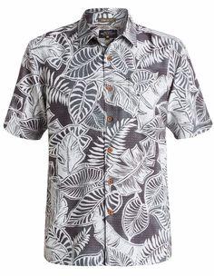 New Quiksilver Waterman Siesta Hawaiian Shirt Small Aloha Comfort Fit NWT $70 #QuiksilverWaterman #Hawaiian