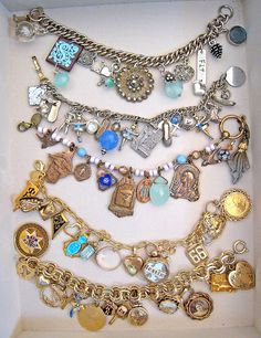 add your pin to your vintage charm bracelet after graduation <3