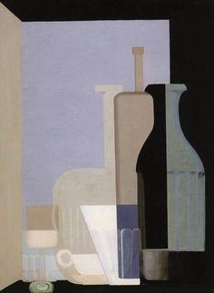 Amédée Ozenfants. Nature morte aux bouteilles. 1922. Tate Gallery. Londres