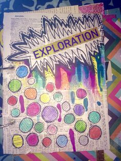 Cover to my art journal right now