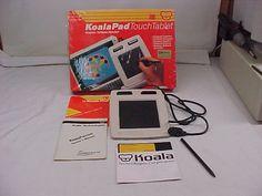 "The Koala Pad - my first ""touch"" technology. Circa 1984!"