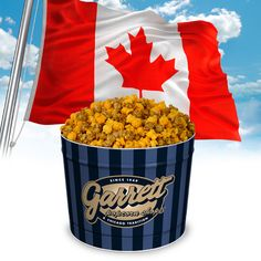 Garrett Popcorn Shops® Now Ships to Canada