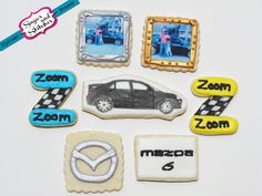 These Mazda cookies sure do look good!