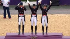 GB 2012 Olympic Dressage Team GOLD - 6/8/2012  5.00pm