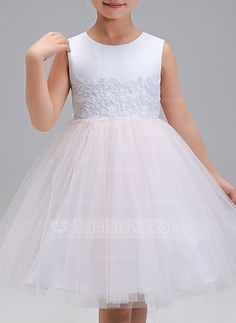 Polyester Dancewear/Tutu Dresses/Daily Dresses With Embroidered (010088312)
