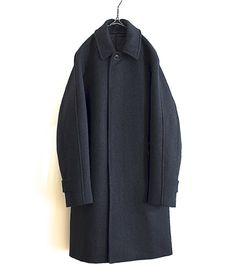 COMOLI メルトンステンカラーコート http://floraison.shop-pro.jp/?pid=81931502