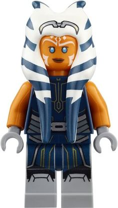Lego Custom Minifigures, Star Wars Minifigures, Star Wars Rebels, Lego Star Wars, Battle Droid, Cool Lego Creations, Ahsoka Tano, Lego Dc, Blue Jumpsuits