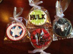 Marvel Super Hero Cookies https://www.facebook.com/SweetHavenCypress