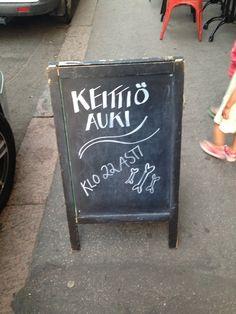 Esimerkki helposta ja yksinkertaisesta mutta samalla oma laatuisesta (Helsinki / Ravintola Tre bones  Annankatu)