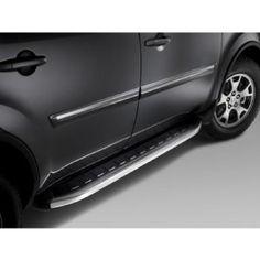 2009-2012 Honda Pilot OEM Premium Running Boards : Amazon.com : Automotive