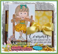 Sasayaki Glitter Challenge Blog: SASAYAKI GLITTER MID-JUNE NEW RELEASE PLUS FREEBIE