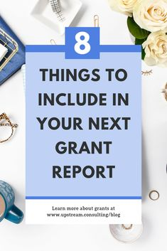 Sometimes funders will tell you exactly what to include in a grant report. But what do you do if they don't provide any guidance? Click through to read 8 things to include in your grant reports when you don't have any guidelines. Grant Proposal Writing, Grant Writing, Writing Help, Writing A Book, Business Writing, Resume Writing, Ministry Leadership, Speech Therapy Activities, Play Therapy