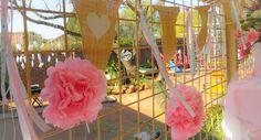Mianey 1st Birthday #diyparty #tutu #vinyl #silhouette #1stbirthday #kidsparty #springideas #candyfloss #bunting Candyfloss, Diy Party, Bunting, First Birthdays, Tutu, Silhouette, Spring, Garlands, Ballet Skirt