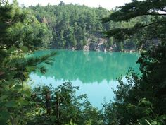 Lac Pink, Parc de la Gatineau, Québec.  My Dad and I went every sunday and walk all around the lake.