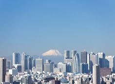 東京 Tokyo Japan shinjyuku 富士山