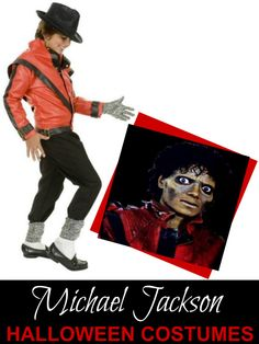 Michael Jackson Costumes for Halloween - Bad, Beat It, Smooth Criminal, Thriller
