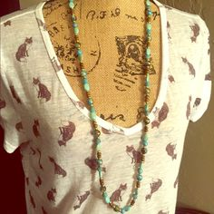 Darling top! White with Foxes. Super thin see through top. EUC! Mudd Tops Tees - Short Sleeve