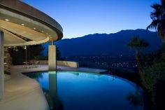 James Bond house perched on the edge