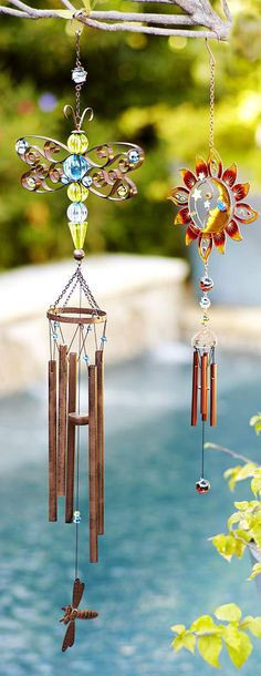 Windchimes - the movement and sound of our windchimes