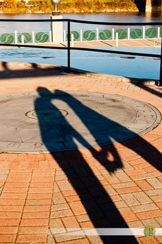 engagement picture....cute shadow picture
