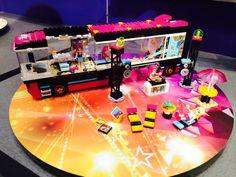 Lego Friends Pop Star Tour Bus