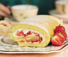 swiss roll cream filling (easy)
