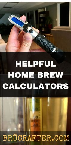 Simplify your Beer Brewing with these helpful Homebrew Calculators and Converters. #homebrewing #homebrewcalculator #brewingcalculator #brucrafter