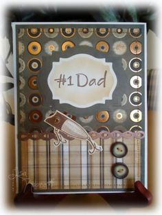 Fishing Dad by Lisa Ku - Cards and Paper Crafts at Splitcoaststampers