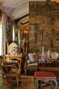 fabric designs by world famous Fortuny