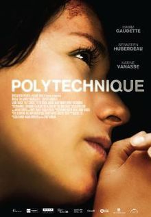 """Polytechnique - is a 2009 Canadian film from Quebec written by Jacques Davidts and Denis Villeneuve and directed by Denis Villeneuve. Set in Montreal, Quebec and based on the École Polytechnique massacre (also known as the """"Montreal Massacre""""), the film documents the events of December 6, 1989, through the eyes of two students who witness a gunman murder fourteen young women."""