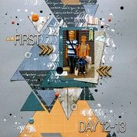 A Project by SanELi from our Scrapbooking Gallery originally submitted 08/25/13 at 01:17 PM