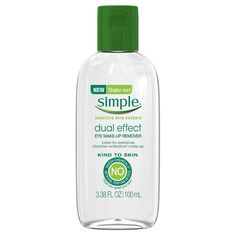Simple Bi-Phase Eye Make-up Remover 3.38 oz