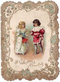 St Valentine Card