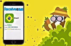 Tudo o que você precisa é de uma aplicação sofisticada que possa hackear o celular de qualquer pessoa com apenas seu número de celular para você. Natural Person, Brazil