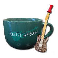 Keith Urban Coffee Mug/Ornament Bundle