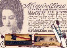 Maybelline for eyelashes and eyebrows