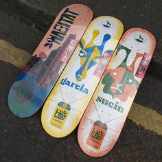 Skate decks byhabitatskateboardsthedailyboard | facebook |...
