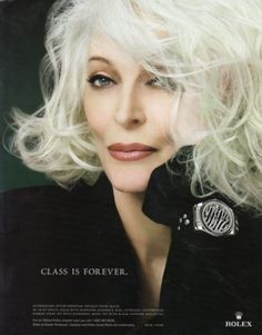 Carmen Dell'Orefice I HATE HER, HOW CAN SHE BE THAT BEAUTIFUL? !!!