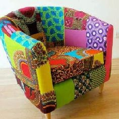 African print furniture - Google search