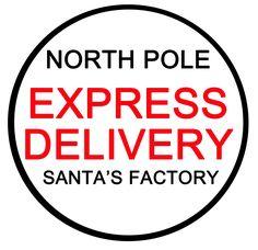 North Pole Stamp | north pole postmark stamp